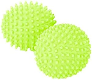 DRYER BALLS by ECO SPIN (4 UNITS) Green Best Eco-Friendly Alternative for Natural Organic Wool Ball Sheets Fabric Sof...