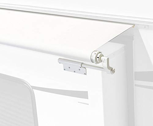 White Slide Topper Awning - 13' (12'7' Fabric)