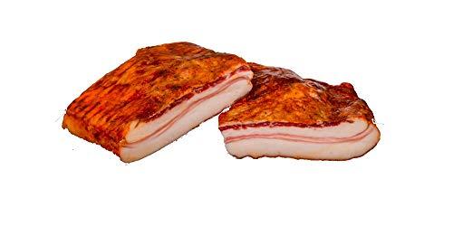 Panceta de cerdo ibérico curada y adobada al natural 2,5 kg. aprox.