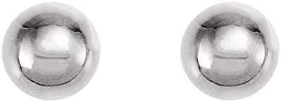 Titanium 4 mm Ball Stud Piercing Earrings Ball Stud Inverness? Piercing Earrings