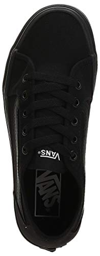 Vans Filmore Decon, Sneaker Donna, Nero ((Canvas) Black/Black 186), 38 EU