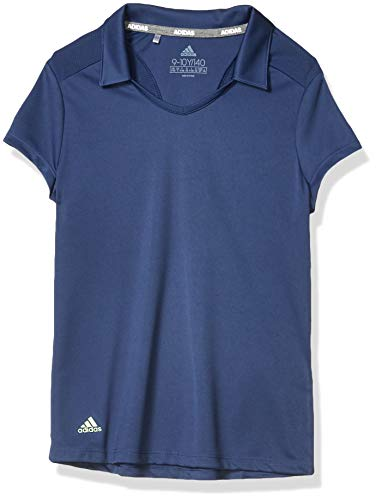 adidas Golf Solid Fashion Polo Shirt, Tech Indigo, X-Small