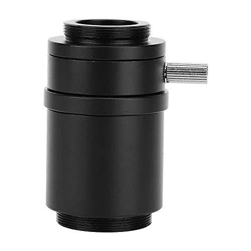 Adaptador de cámara de lente de montaje de microscopio estéreo de aleación de aluminio interfaz CTV para microscopio estereoscópico(25mm)