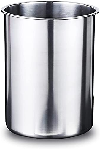 Cubitera (2,5 L), cubitera de acero inoxidable de doble pared, fácil de transportar, cubitera gruesa para cubitos de hielo, vino, botellas de champagne, restaurantes, casa, etc.