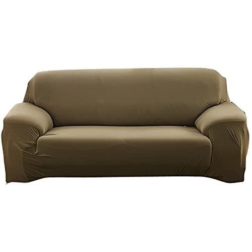 WXQY Fundas Antideslizantes elásticas de Color sólido Funda de sofá Antideslizante para Mascotas Funda de sofá para Mascotas Esquina en Forma de L Funda de sofá Antideslizante A10 1 Plaza