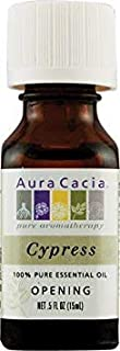 Aura Cacia Cypress Essential Oil 1/2 oz. Bottle
