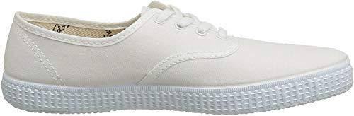 Victoria Inglesa Lona 6613, Zapatillas de Tela Unisex, Blanco (20 Blanco), 41