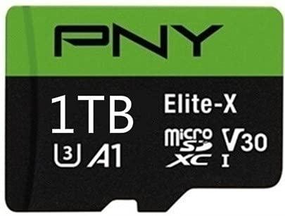 PNY 高速1TB(1024GB)マイクロSD メモリーカード+USBカードリーダーセット