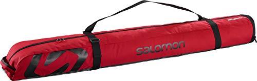 SALOMON Extend 1PAIR 130+25 SKIBAG Ski/Board Bag, Barbados Cherry/Black, One Size