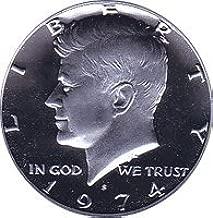 half dollar coin 1974