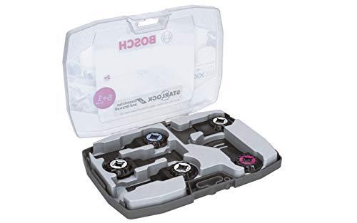 Bosch Professional 2608664622 Set di Lame per Taglio dal Pieno Starlock per Legno, Metallo e Multimaterial, Accessorio per utensile Multifunzione, Set di 6 Pezzi