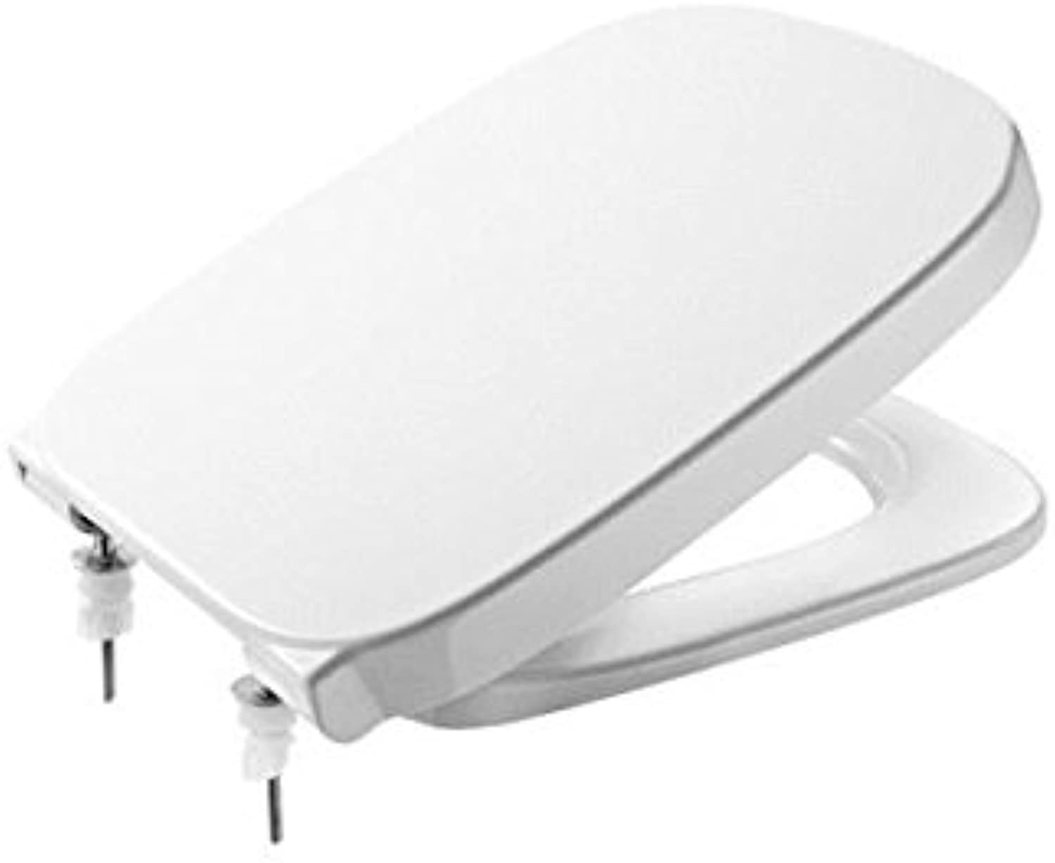 Rock A8019D2004?Debba Collection Toilet Seat and Soft-Closing Lid (White)