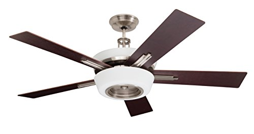 kathy ireland HOME Laclede Eco Indoor Ceiling Fan with Remote Control   Integrated LED Light Fixture...