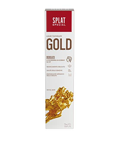Splat Gold Whitening tandpasta, 1 x 75 ml