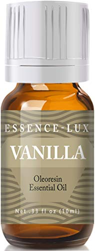 Vanilla Essential Oil - Pure & Natural Therapeutic Grade Essential Oil - 10ml