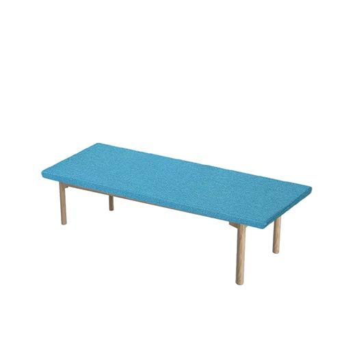 Yzzlh 5cm Thick Long Bench Cushion with Non-slip Bottom, Swing 2 or3 Seater Bench Mat Pad Replacement Mattress Travel Seat Pad Indoor Outdoor,4cm Thick,Washable (I,50x100cm)