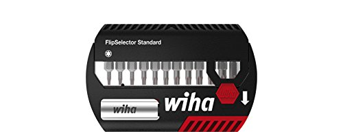 WIHA 39124 - Juego de bits FlipSelector Standard de 25 mm 7947-505 FlipSelector Ref. 7947505 (Envase de 10 Ud)
