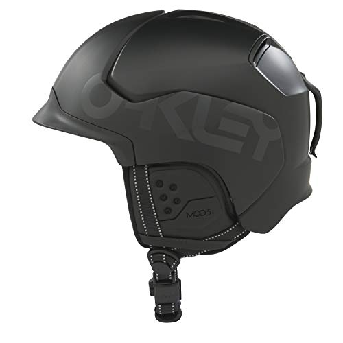 Oakley Mod5 Factory Pilot Snow Helmet, Matte Black, Small