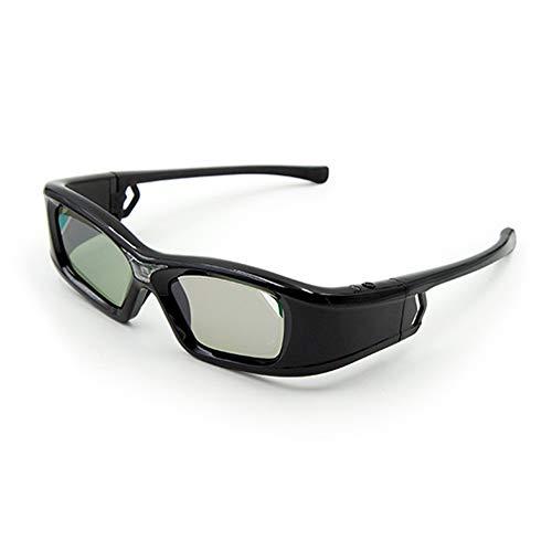 docooler GL410 Occhiali 3D per proiettore Full HD Active DLP Link per Optama Acer BenQ ViewSonic Sharp Proiettori DLP Link