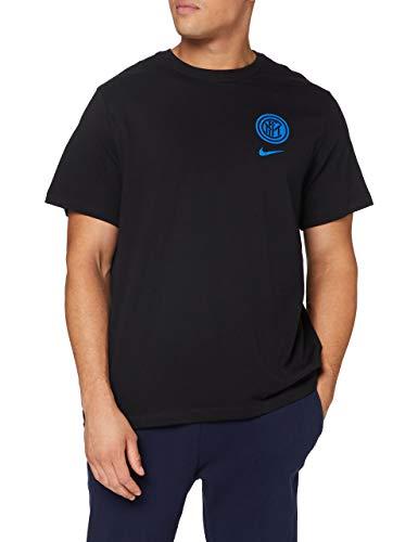 Nike Inter M Nk Tee Voice, T-shirt Uomo, Black, M