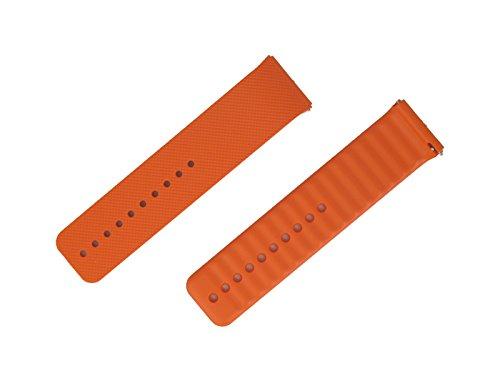 Correa ajustable para Samsung SM-R380 Gear 2, SM-R381 Galaxy Gear 2 Neo, color naranja - GH98-32314C
