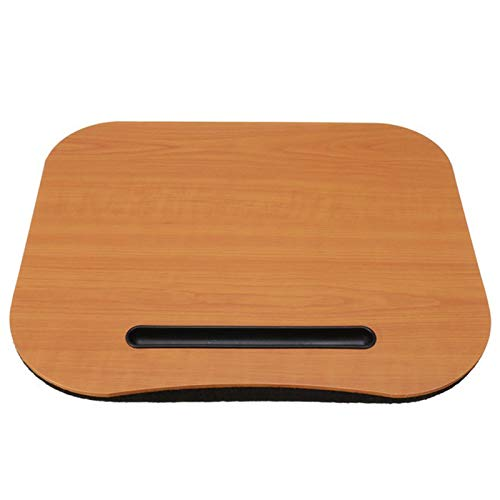 Laptop Stand Desk Bed Cushion Knee Lap Handy Computer Reading Writing Table Tablet Tray Cup Holder Laptop Stand Office Desk Set 3Color (2)