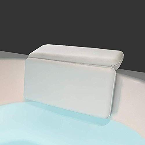 Badkamer Kussens Krachtige Grip Comfortabel, Zacht En Luxe 2 Panel Ontwerp Ondersteunt Schouderhals voor Hot Tub Jacuzzi En Spa