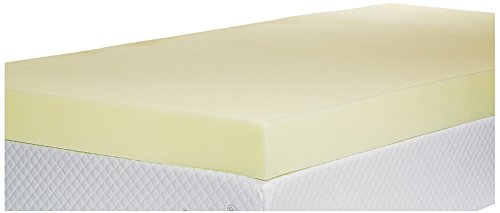 Southern Foam 4 Inch Double Memory Foam Mattress Topper