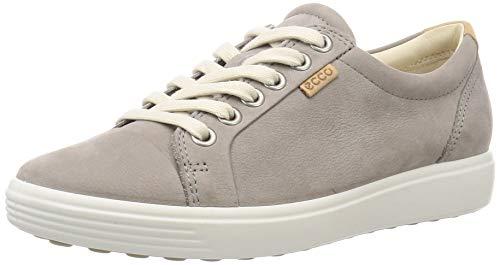 Ecco Damen SOFT7W Sneakers, Grau (2375WARM GREY), 40 EU