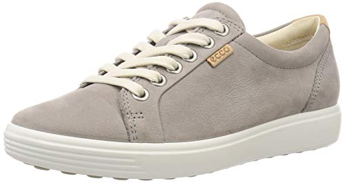 Ecco Damen SOFT7W Sneakers, Grau (2375WARM GREY), 40 EU