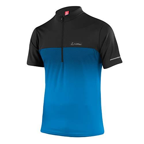 LÖFFLER Bike Shirt Flow Half Zip Herren 22451 - Fahrradtrikot
