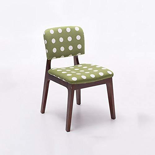 DJ kruk, moderne stoel, rugleuning, houten stoel, loungestoel, creatief tuinstoel, thuis, achterstoel, spaarzaam, eetkamerstoel (kleur: B) A