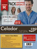 PACK AHORRO BASICO. Celador del Servicio de Salud del Principado de Asturias. SESPA. (Incluye Temario y Test general, Temario y Test específico y Simulacros)