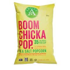 Buy Angies Boomchickapop-Sea Salt pop corn 4.8 oz x 3 bag pack