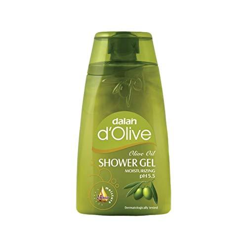 3 x Dalan d'Olive - Duschgel Feuchtigkeitsspendend - 250 ml