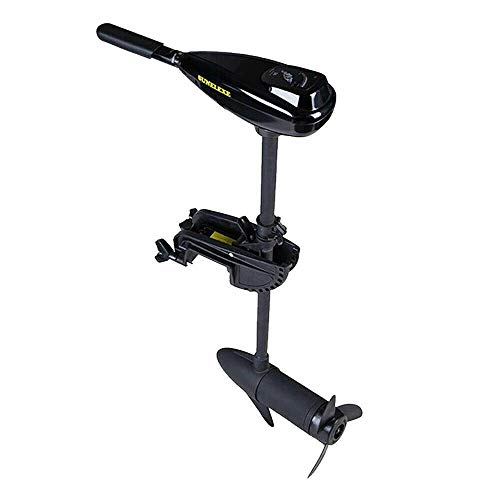 Electric Trolling Motor, 408W 40LBS Thrust Transom Mount Outboard Trolling Motor Engine Outboard Boat Motor for Inflatable Kayaks Dinghy Canoe -  VONZOER, OTML309CSW