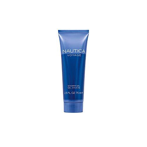 Nautica Voyage Shower Gel 2.5 oz (3 Pack)