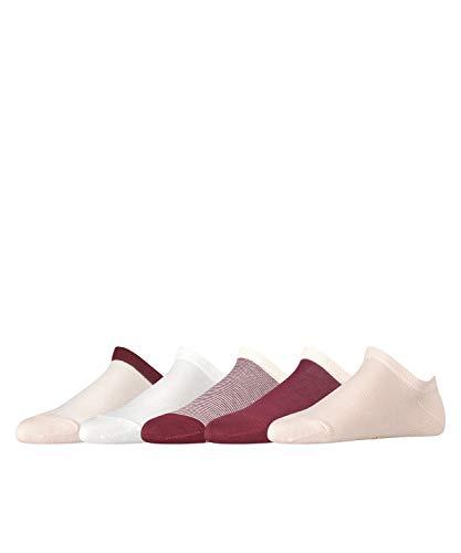 ESPRIT Damen Mixed Stripes 5-Pack W SN Hausschuh-Socken, Mehrfarbig (Sortiment 30), 36-41 (5er Pack)