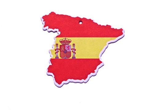 Desodorisant Odeur à assainisseur d'air d'Espagne drapeau de voitures nouvelles