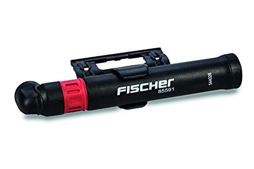 FISCHER Minipumpe mit Twist Lock Funktion inkl. Rahmenhalter, passend für alle gängigen Ventile