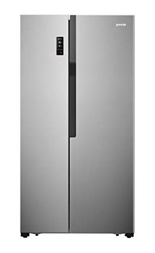 Gorenje NRS 918 EMX/Side by Side Kühl-Gefrierkombination/NoFrost/178,6 cm/321 kWh Jahr/174 l Gefrierteil/334 l Kühlteil/Multiflow-Kühlsystem