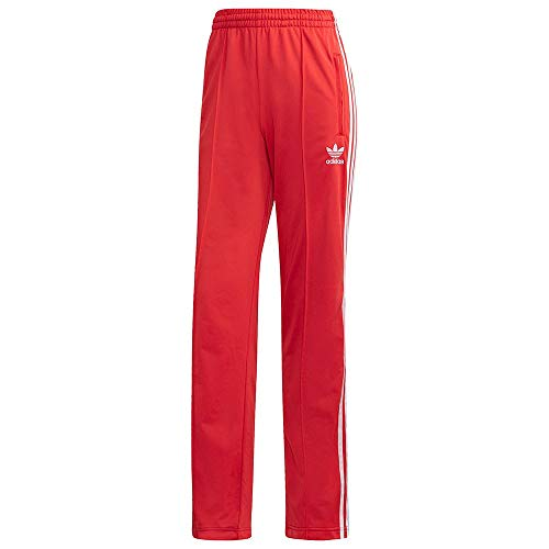 adidas Damen Sport Trousers Firebird TP, Lush red/White, 40, FM3266