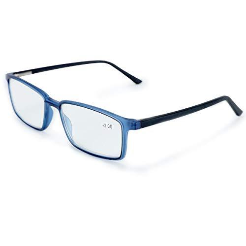 ZENOTTIC Occhiali a luce blu per uomo e donna (1.75, Blu)