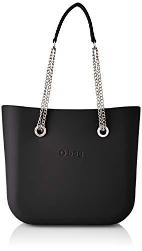 OBAG O Bag Mini, Bolso de Mujer, Negro, Talla única