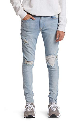 HUDSON Jeans Men's Zack Skinny (Zipfly) Denim, Inbounds, 36