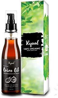 Ryaal Hair Food Onion Hair Oil Nourishing Hair Fall Treatment with Real Onion Extract Intensive Hair Fall Dandruff Treatment, 200 ml