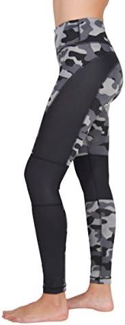 90 Degree By Reflex Activewear Yoga Pants Peachskin Brushed Printed Leggings Print 278 Engraving Black//White XL