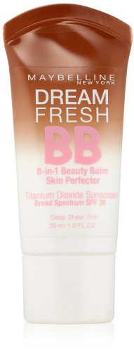 Maybelline New York Dream Fresh BB Cream, Deep, 1 Fluid Ounce (Packaging may vary)