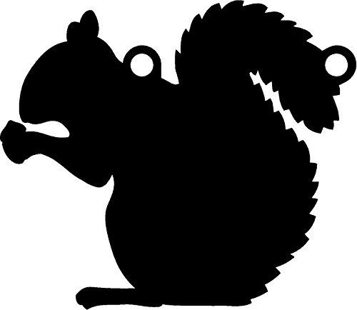 """High Caliber AR500 Animal Targets - Squirrel 1-12"""" X 13"""" X 1/2"""" - More Animals & Sizes in The Listing - Steel Targets Practice for shooing Pistol and Rifles"""