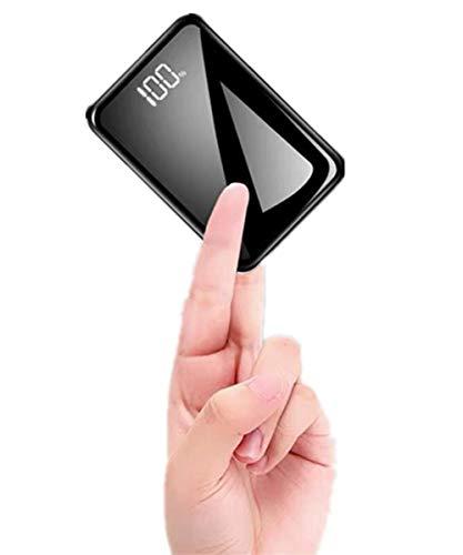 モバイルバッテリー 小型 軽量 13800mAh 携帯バッテリー 大容量 コンパクト LCD残量表示 鏡面仕上げデザイン 持ち運び便利 急速充電 ミニ 携帯充電器 ipad/iPhone/Android 機種対応 出張 旅行 地震防災 アウトドア活動 …